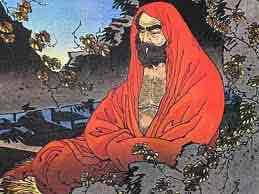 Bodhidharma Introduceerde Het Kung Fu In De Shaolin Tempel
