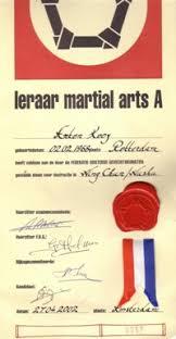 Wing Chun Leraar Martial Arts