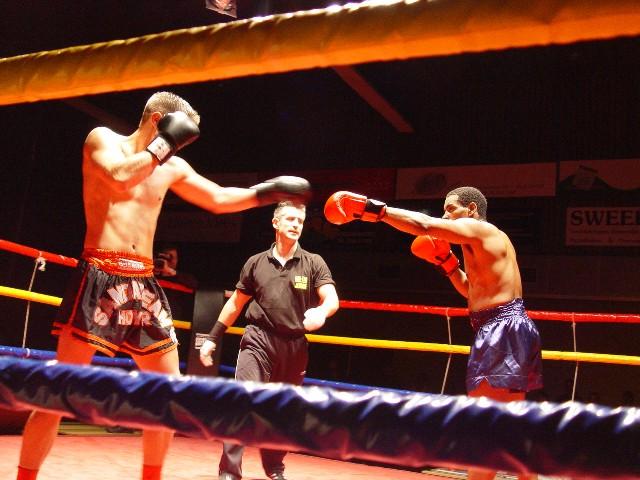 Wing Chun Bewezen Effectief Door Ramon Tijdens Een Sanda Wedstrijd