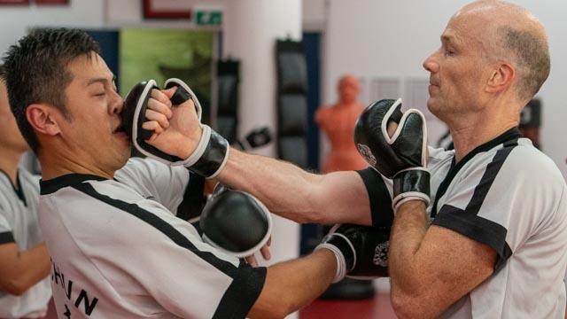 San Sau - Het Wing Chun Sparren